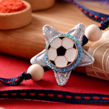 Soccer Star Kids Cartoon Rakhi