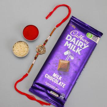 Ek Onkar Rakhi & Dairy Milk Chocolate
