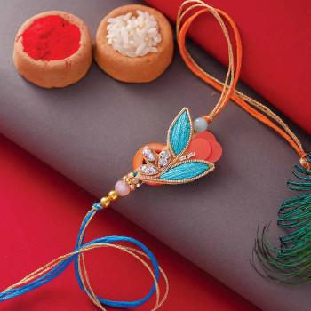 Embroiderd Fancy Rakhi - For India