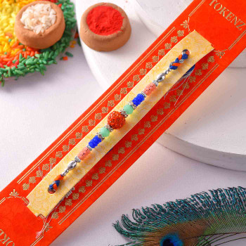 Colorful Beads Rakhi
