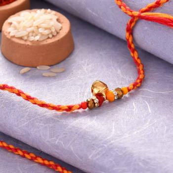 Ghungroo Beads Rakhi