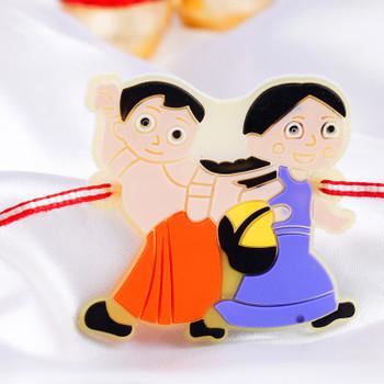 Cute Kids Cartoon Rakhi -For New Zealand