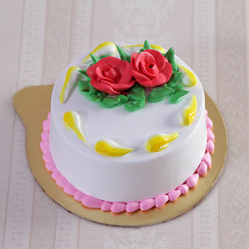 Vanilla Rose Petal Cake