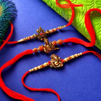 Rakhi Set Mewa Bateesa - For India