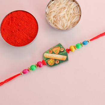Kid's Rakhi With Chocolate & Color Set -For Australia