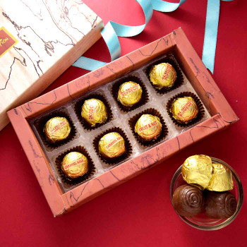 Fancy Kids Rakhi With Handmade Assorted chocolate Box - For India