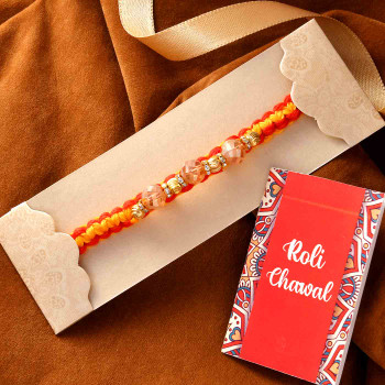 Sparkling Kids Rakhi With Ferrero Rocher - For India