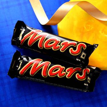 Colour Kids Rakhi With Mars Chocolate Bars - For India