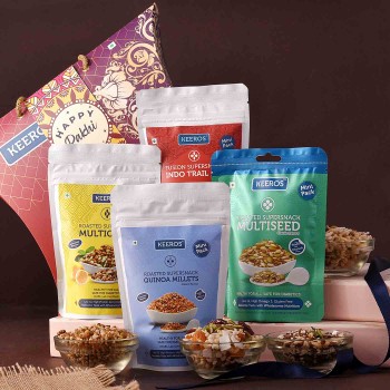 Exotic Healthy Eat Hampers - FOR INDIA