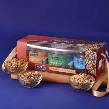 Trio Multiseed Healthy Eat Hamper - FOR INDIA