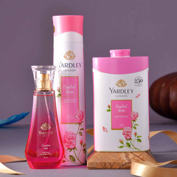 Yardley London English Lady Pink Grooming Hamper - FOR INDIA