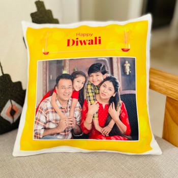 Joyfully Diwali Personalised Cushion