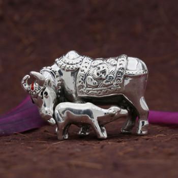 999 Silver Cow & Calf 15 gm