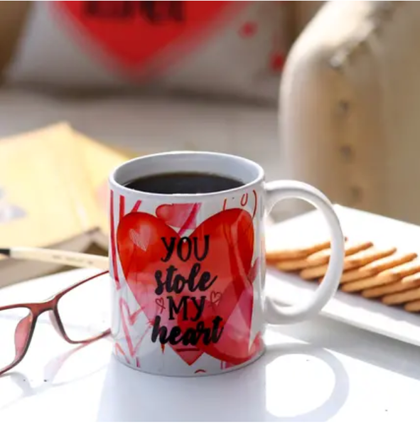 You Stole My Heart Mug