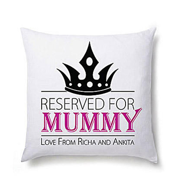 Lovely Personalized Cushion For Mom