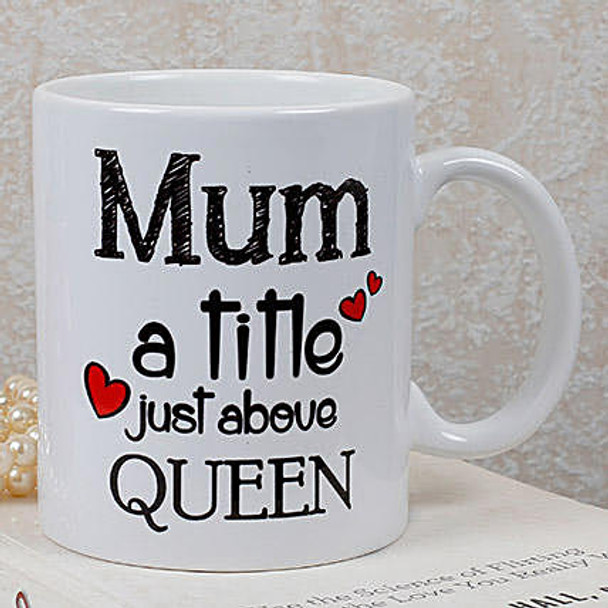 Personalized Queen Mom Mug
