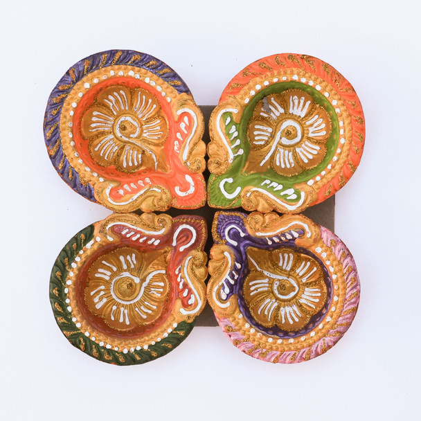 Traditional Diya Set For Diwali  - FOR AUSTRALIA