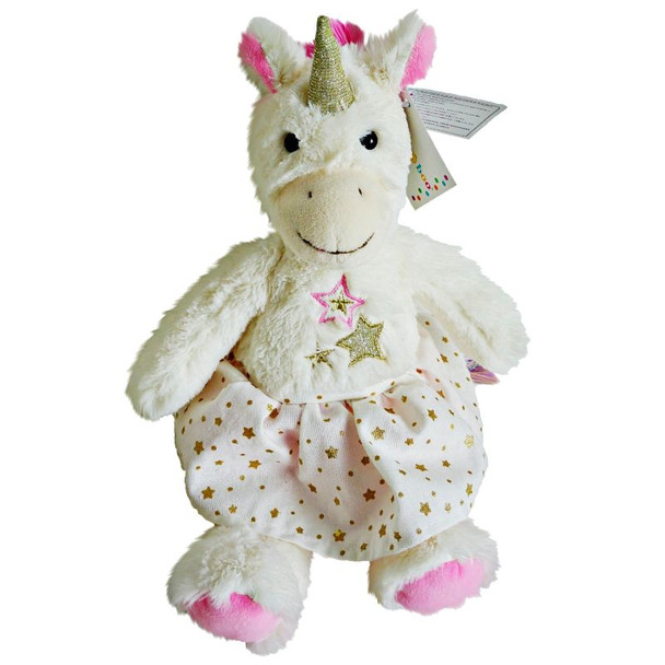 Unicorn soft toy 35cm with Cadbury Favourites 300gm Chocolates - FOR AUSTRALIA