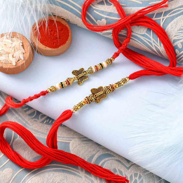Two Rakhi Set for India
