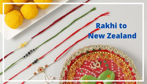 Rakhi to New Zealand