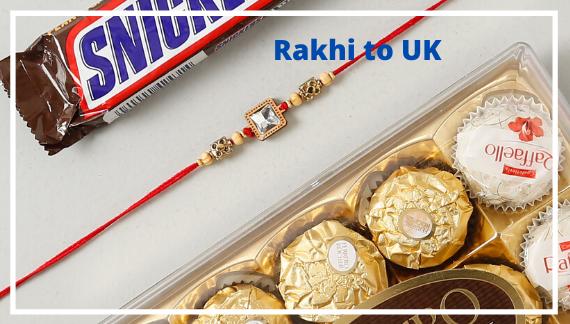 Rakhi to UK