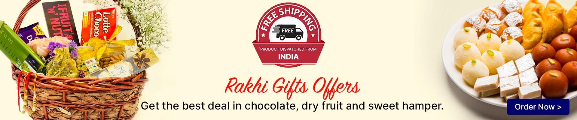 Rakhi Gifts Hampers to India