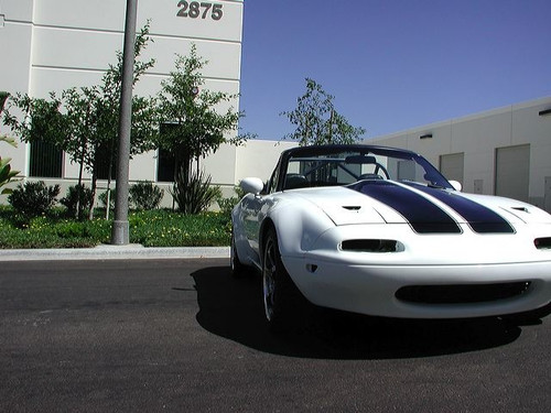 1990-1997 Miata Wide Body Kit - Bonded Flares