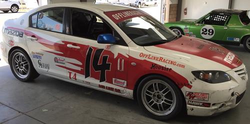 2004 Mazda 3 Race Car