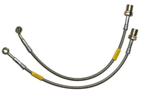 2006-2013 MX-5 Miata - Steel Braided Brake Lines