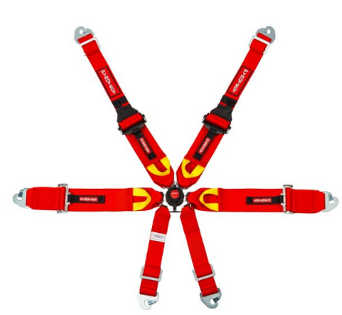 ULTRA-LIGHT 3″ FIA 6-POINT CAM-LOCK HARNESS