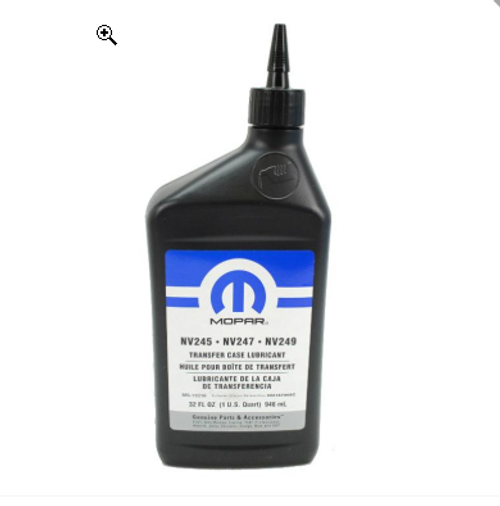 Mopar Replacement Transfer Case Lubricants 05016796AC