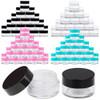 5G/5ML (0.18 oz) Plastic Clear Cosmetic Sample Jars (High Quality)