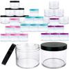 120g/120ml (4 oz) Plastic Cosmetic Sample Jars (High Quality)