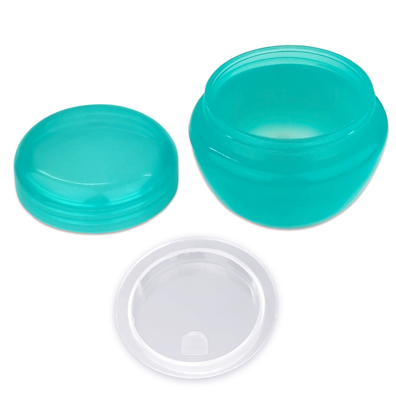 10G/10ML Plastic Cosmetic Sample Jars (Frosted)