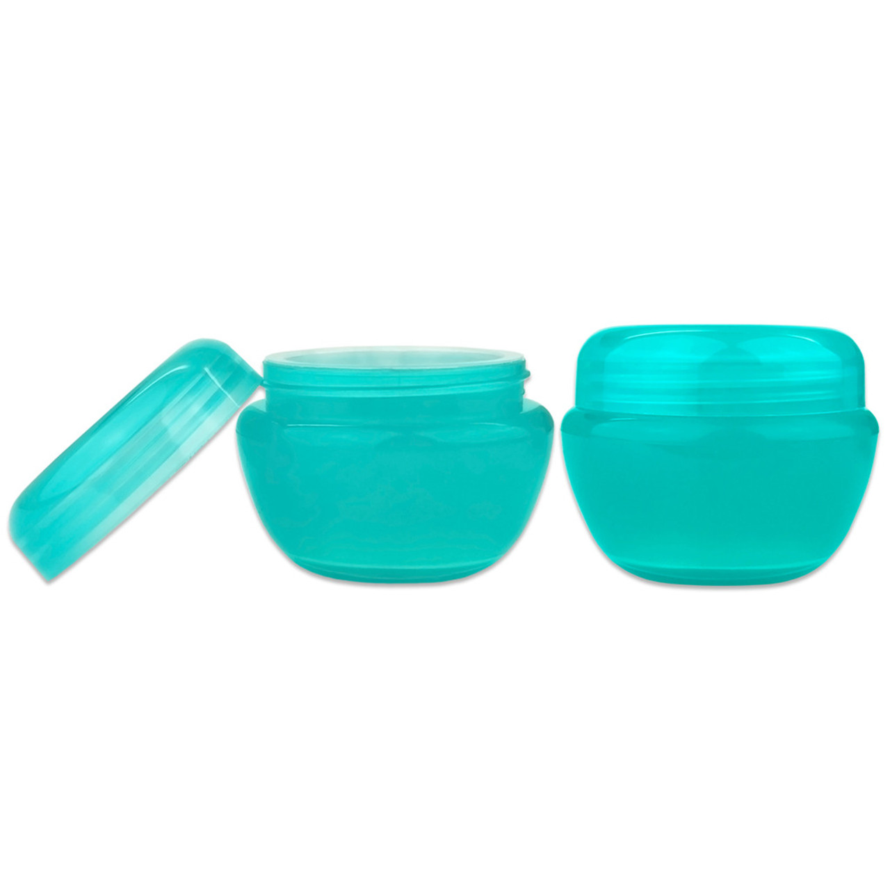 30g/30ml (1 oz) Plastic Cosmetic Sample Jars (Frosted)