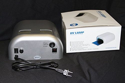 Silver 36W Nail Curing UV Gel Tunnel Lamp Dryer