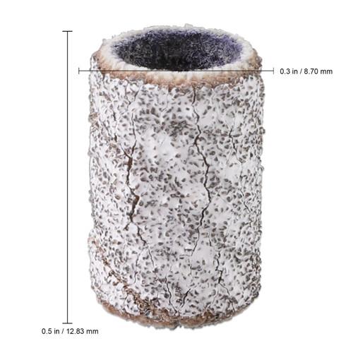 PANA 100 Pieces Zebra Nail Sanding Bands (Grit 80, 120, 150, 180, 240)