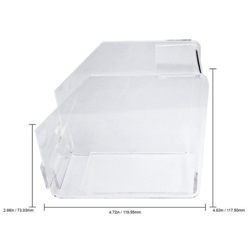 Professional Clear Acrylic Nail Form Roll Dispenser