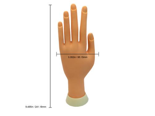 Premium Soft Plastic Hand (V-227A)