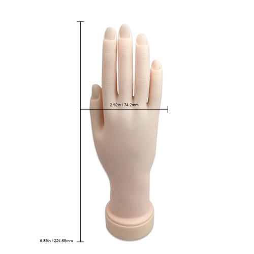 Premium Soft Plastic Hand (Round Base V-227C)