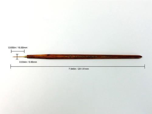 Fuji Nail Art Medium Striper Brush