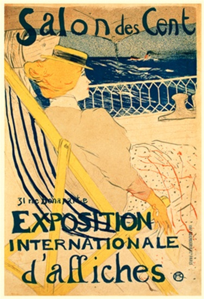 Salon des Cent Exposition Internationale d'affiches