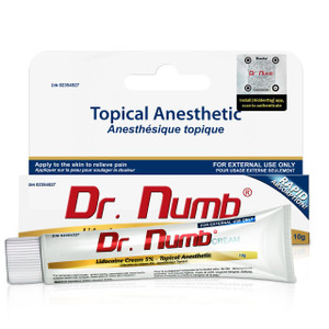 Dr. Numb® 5% cream---10g