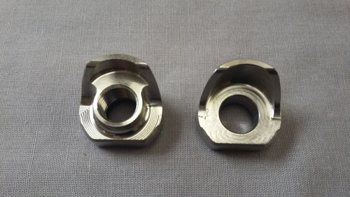 31 8mm Thru Axle Dropout Stainless Steel - Bear Frame Supplies