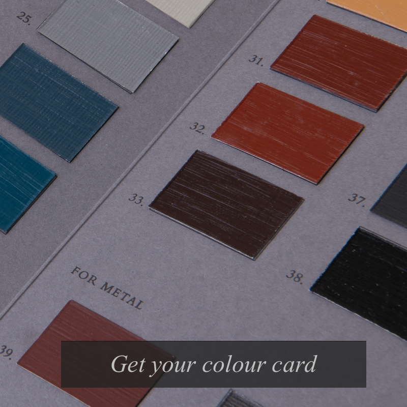 Brouns & Co Colour Cards