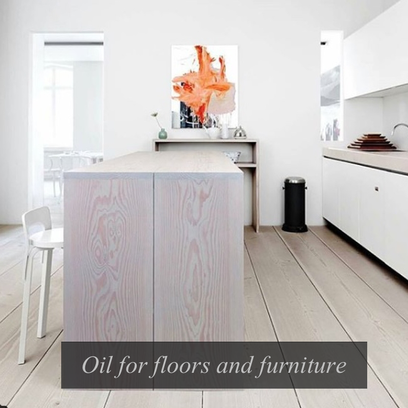 Brouns & Co Satin Wood Oil for floors and furniture