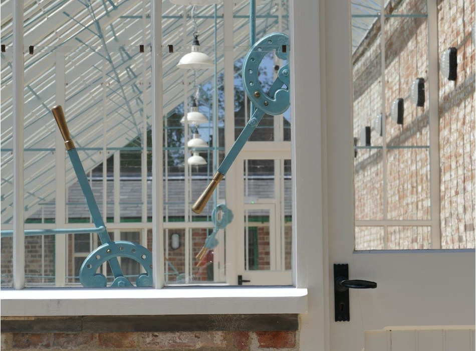 Brouns & Co linseed oil used on Walton Hall Conservatory
