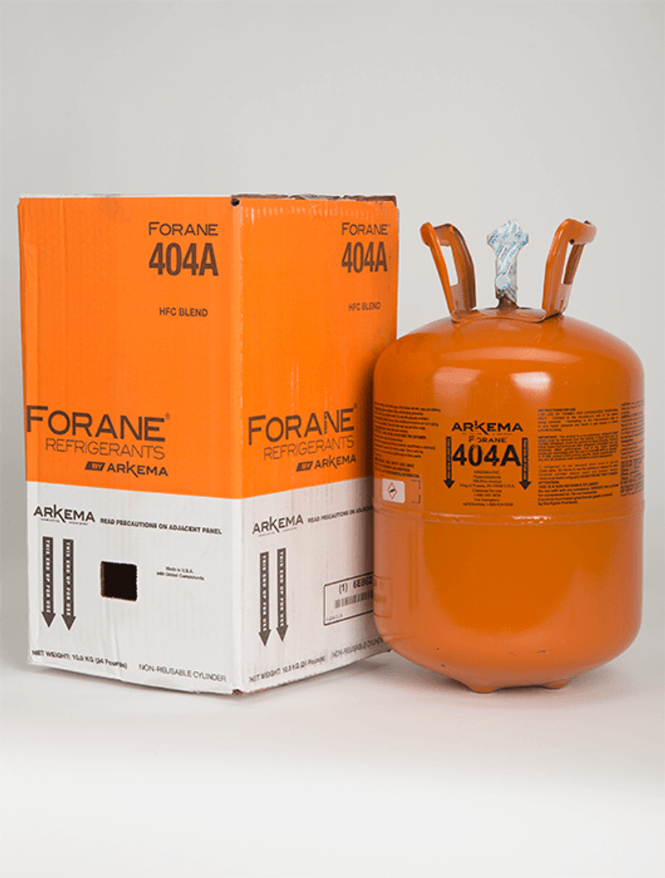 R-404A - 24 lb - Forane - Free Shipping*