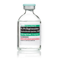 BUPIVACAINE, 0.5% (25/Bx) * 50 mL