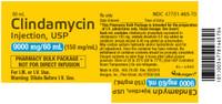 CLINDAMYCIN PHOSPHATE. 150 mg (MDV) * 60 mL